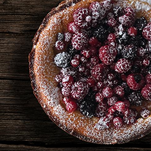 NY Cheesecake con Frutti Rossi