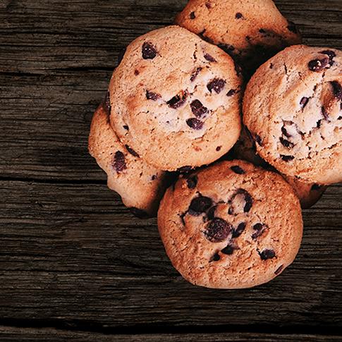 Cookies con Uvette e Pinoli