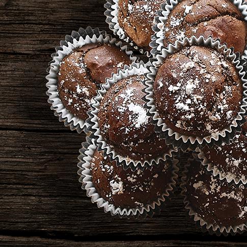 Muffin Vegani con Datteri e Anacardi